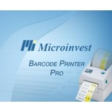 Microinvest Barcode Printer Pro - программа для создания и печати этикеток
