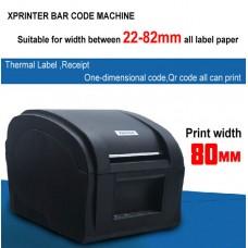 Принтер этикеток, термопринтер штрих кода XP 360B usb