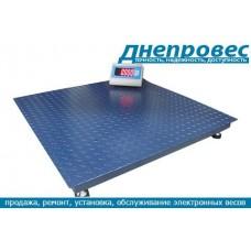 Весы платформенные от 500 до 5000 кг PW ДНЕПРОВЕС
